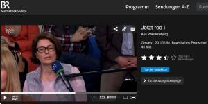 """Andrea Stadler bei """"Jetzt red i"""""""