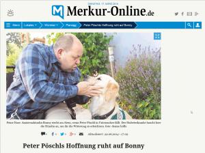 Peter und Bonny im Münchner Merkur